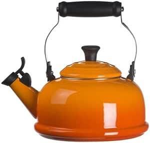Le Creuset 经典1.75-qt 吹口哨的 teakettle Flame 1.8-qt.