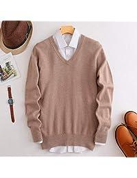 欧米澳 秋冬男圆领山羊绒衫纯色套头半高领毛衣加厚大码羊毛针织打底衫