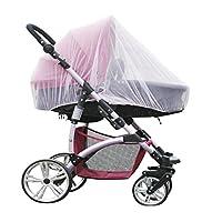 Digead 婴儿车蚊帐,婴儿车,婴儿车,婴儿床和旅行床,全覆盖蚊帐直径150厘米