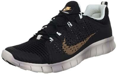 Nike 耐克 运动生活系列 NIKE FREE POWERLINES + II 男式 休闲运动鞋 555306030 黑/甜橙色 44.5