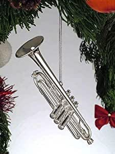 圣诞乐器装饰品 Silver Trumpet 43219-73009