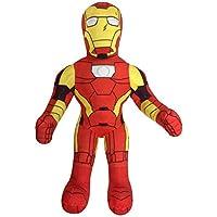 Jay Franco Marvel *英雄冒险幼儿钢铁侠毛绒填充枕头伙伴 - 超柔软涤纶超细纤维,50.8 厘米(Marvel 官方产品)