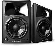 M-Audio AV32 10 瓦专业工作室监视器扬声器,带 7.62cm 低音扬声器(一对)103295 独立扬声器 4-inch Woofer