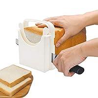 POLARHAWK 面包切片机,可调节面包/烤/面包切片机,折叠面包切片机,可定制5厚度 | 百吉饼/三明治/烤面包片 |