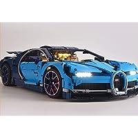 带 TECHNIC Bugatti Chiron 型号 Lego 42083 USB 电源的砖块 LED 灯套件(不含乐高套装)