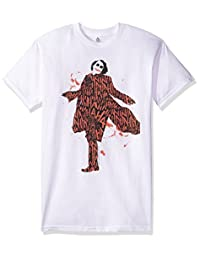 trevco 男式蝙蝠侠黑暗骑士涂有一层 laughter T 恤
