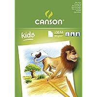 Canson 康颂 儿童绘画本(5岁以上) 30 张/本 21X29.7CM (A4) 90G