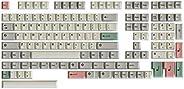 HK 游戏染料升华键帽 | 樱桃轮廓 | 适用于机械键盘的厚 PBT 键组hk_dye_9009_139  139 Keys