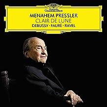 进口CD:月光:德彪西&佛瑞与拉威尔之钢琴作品辑-梅纳海姆•普莱斯勒 Clair De Lune(CD)4798756 [CD] 梅纳海姆.普莱斯勒(Menahem Pressler); 德彪西; 佛瑞、 拉威尔