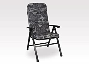 Angerer 高级沙发垫 高设计 蝴蝶 120 x 50 x 7 cm 灰色 1024/205