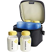 Medela 美德乐 储奶便携式上班冰包+150mlPP保鲜奶瓶 4个装
