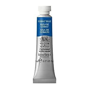 Winsor & Newton Professional Water Color Tube, 5ml 艳蓝色