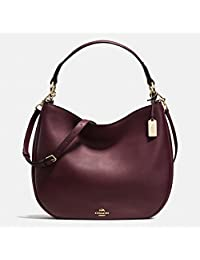 Coach Chelsea Crossbody Light Gold/Oxblood
