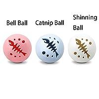 CatYou 猫球玩具 闪光球 猫薄荷球 铃铛 互动猫咪玩具