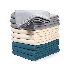 棉质保暖毯 炭黑色 95x90 37493