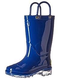 Western Chief 儿童防水 PVC 发光雨靴