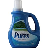 Purex 普雷克斯 衣物柔软剂(山野微风) 2.95L(美国进口大容量 衣物护理柔顺剂 持久芳香 消除静电)(亚马逊自营商品, 由供应商配送)