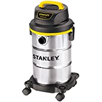 "Stanley 4 hp 干湿两用真空吸尘器 ""Multi"" 5 Gallon, 4.0 HP, 65"" Sealed Pressure SL18130"