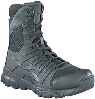Reebok 男士无畏 8 英寸战术靴带侧拉链
