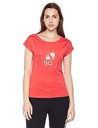 adidas 阿迪达斯 女式 运动型格 短袖T恤 SS T LEOPARD