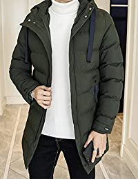 MPSMOVE 思慕夫 2018【多色可选】冬季款男士韩版简洁外套男修身棉衣男装夹克男长款KW292【12】