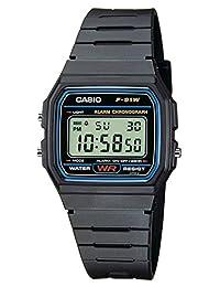 Casio 系列男/女成人手表F-91W-1XY