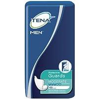 TENA 男式尿*防护护具 Moderate Absorbency 48 Count 48