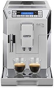 De'Longhi 德龙 Eletta Cappuccino Top 全自动咖啡机 ECAM 45.760.W/15 bar压力萃取/1450 W/1.8L大容量水箱(德版英版随机发货,英版需转