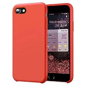KUMEEK iPhone WineRed Case 覆盖 多种颜色 iPhone 7/8 Nectarine