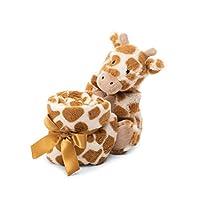 Jellycat Bashful Soother 婴儿*毯系列 长颈鹿