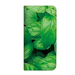 mitas iphone ケース249NB-0131-BA/P-02E 15_ELUGA X (P-02E) バジル(ベルトなし)