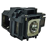 适用于 EPSON ELPLP78 / V13H010L78 EH-TW490 EB-X18、EB-X24、EH-TW5100、EH-TW5200 EH-TW570、powerlite 965 投影仪替换灯