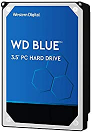 Western Digital 硬盘驱动器 6TB WD Blue PC 3.5英寸(约8.89厘米) 内置HDD WD60EZAZ-RT