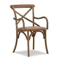 Linon Café 餐具 Rachel 凳子 黑胡桃木椅