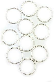纯银圆形跳环 18 Gauge 14.0mm Craft Wire