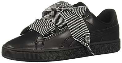 PUMA 女式篮心形 WN 运动鞋 Puma Black-puma Black 5.5 B(M) US