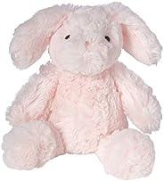 Manhattan Toy 曼哈顿玩具 可爱的粉红色Binky兔子 动物毛绒玩具 8英寸(20.32cm)