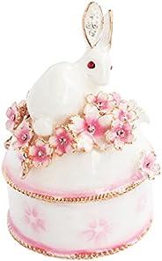 皮亚斯 兔子和樱花B 白色 EX456-1