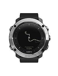 SUUNTO 颂拓 芬兰品牌 远征 石英男女适用手表 黑色GPS多功能 SS021843000