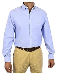 Tommy Hilfiger 汤米·希尔费格 男式修身免烫牛津款商务衬衫