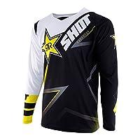 Shot Contact Shirt Replica Rockstar 3.0,黑色/白色/黃色,S 碼