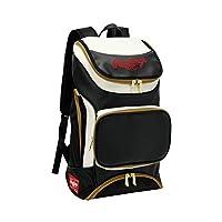 拉绳(Rawlings) 球队背包 38L EBA9S01 黑色/白色 W32×H54×D22cm