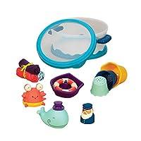 B.Toys 比乐 宝宝洗澡玩具套装 戏水玩具 儿童洗澡喷水玩具 感官训练 早教 0岁+ BX1387Z