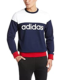 adidas 阿迪达斯 运动型格 男式 运动卫衣 AZ8348