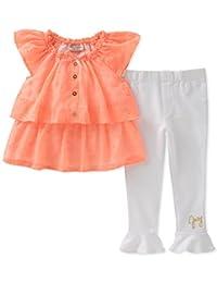 Juicy Couture 橘滋 女童2件套 束腰外衣套装