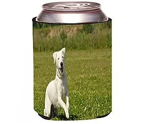 "Rikki Knight ""Jack Russell Terrier Design"" Beer Can Soda Drinks Cooler Koozie"