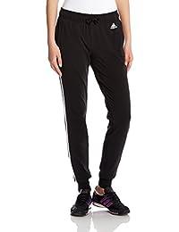 adidas 阿迪达斯 女式 运动型格 针织长裤 ESS 3S SJ PT CH