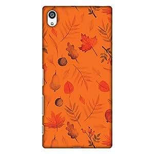AMZER 纤薄手工设计师印花硬壳背壳保护套索尼 Xperia Z5 PremiumAMZ601040078067 Colors of Autumn