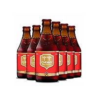 智美 比利时进口 精酿啤酒 6瓶装 口味可选 (红帽6瓶)