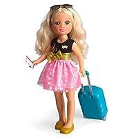 Famosa - Nancy Chic 巴黎旅行玩偶 43 厘米 包括各種配件,多色 (700015341)